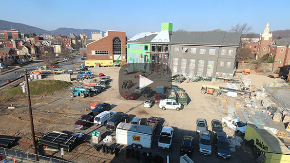 Gateway Building feed image from April 3, 2019.